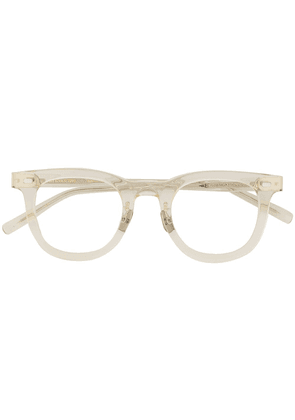 Eyevan7285 clear glasses - White