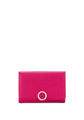Bulgari small continental wallet - Pink