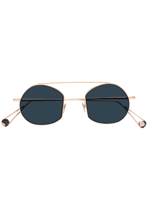 Ahlem gold Victoires round aviator sunglasses - Metallic