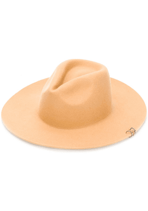 Don Paris wide brim hat - NEUTRALS