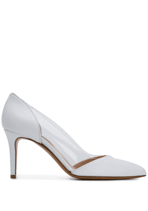 Albano clear panel pumps - White