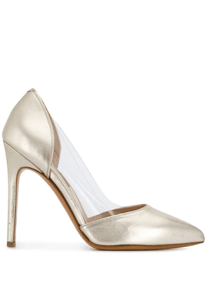 Albano metallic pointed pumps - Gold