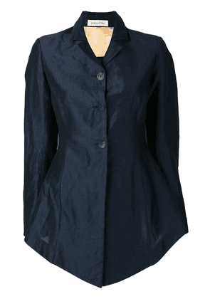 Gentry Portofino flared shirt jacket - Blue