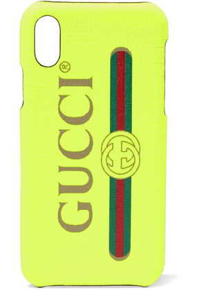 Gucci - Printed Textured Iphone X Case - Bright yellow