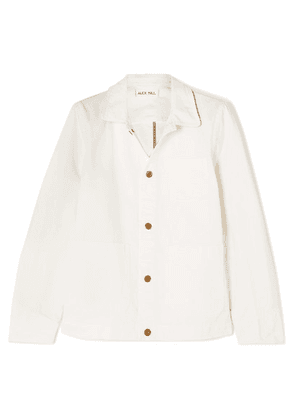 Alex Mill - Herringbone Cotton Jacket - White