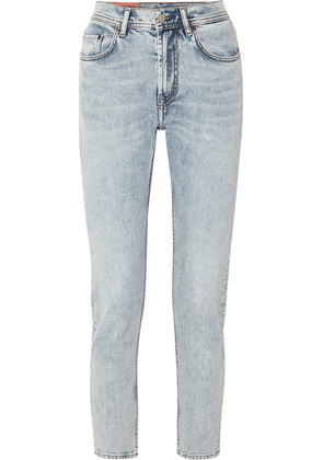 Acne Studios - Melk High-rise Tapered Jeans - Light denim