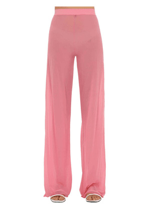Gerbe Sheer Stretch Flared Pants
