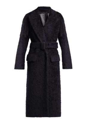 Joseph - Paddington Belted Alpaca Blend Coat - Womens - Navy
