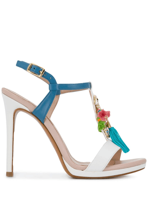 Albano embellished sandals - White