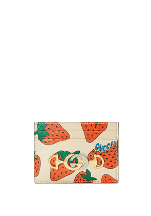 Gucci Gucci Zumi card case - White