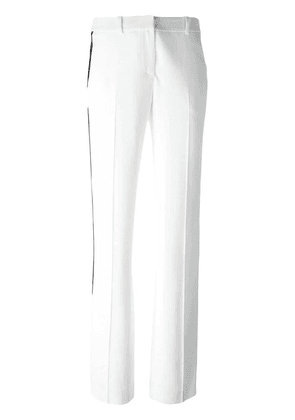Givenchy side stripe tailored trousers - White