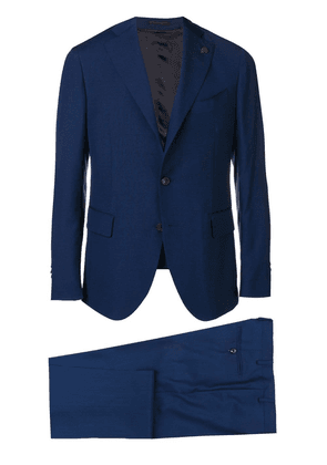 Gabriele Pasini slim single breasted suit - Blue
