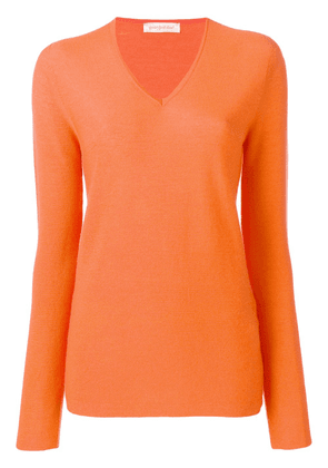Gentry Portofino V-neck sweater - Orange