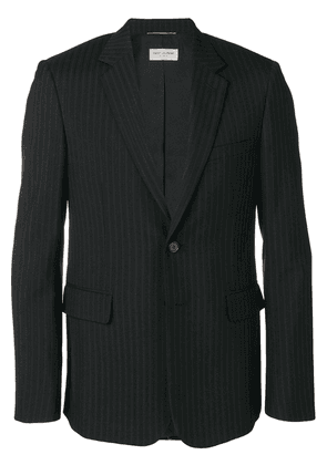 Saint Laurent pinstriped blazer - Black