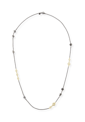 Old World Scroll Keshi Pearl Necklace, 36'