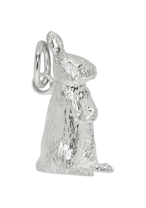 Bunney Silver Standing Rabbit Necklace Charm