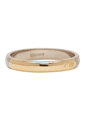 Bunney Gold Slim Wedding Band Ring