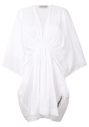 Gentry Portofino kaftan dress - White