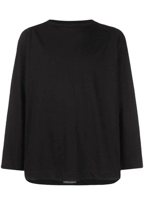 Casey Casey classic long sleeve shirt - Black