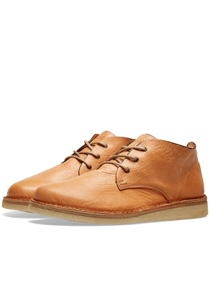 Astorflex Ettoflex Leather Wedge Sole Boot Natural