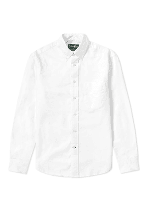 Gitman Vintage Oxford Shirt White