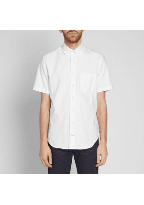 Gitman Vintage Short Sleeve Oxford Shirt White