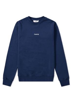 AMI f.ami. ly Embroidered Crew Sweat