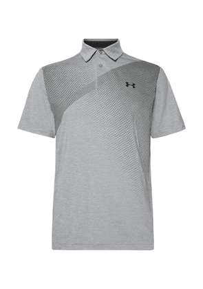 c3e2ccc19d41ef Under Armour - Playoff 2.0 Heatgear Golf Polo Shirt - Gray