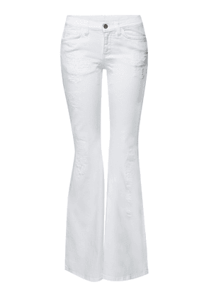 Faith Connexion Distressed Flared Jeans