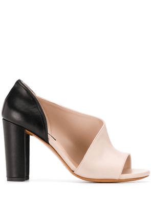 Albano open-toe pumps - Pink