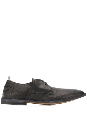 Officine Creative distressed Derby shoes - Black