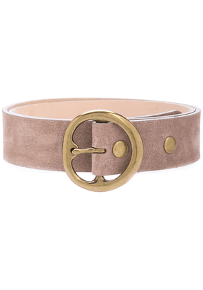 B-Low The Belt rounded buckle belt - Brown