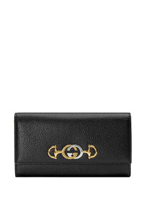 Gucci Gucci Zumi continental wallet - Black
