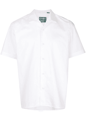 Gitman Vintage classic cut polo shirt - White