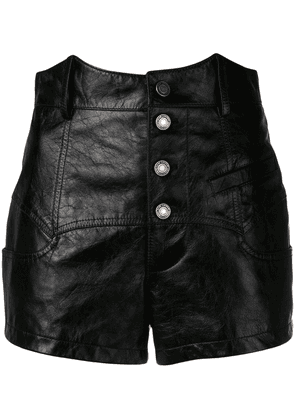 Saint Laurent corset shorts - Black