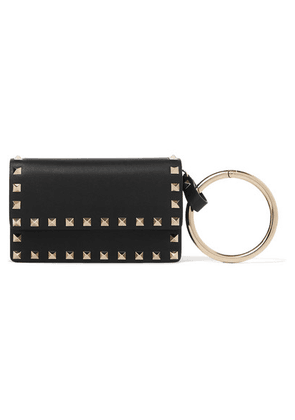 Valentino - Valentino Garavani The Rockstud Small Leather Pouch - Black