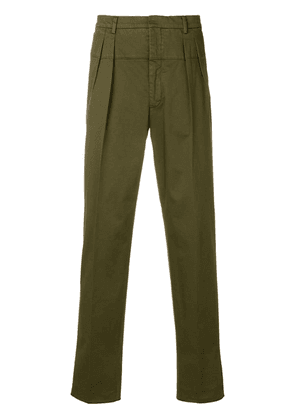 Gabriele Pasini tapered trousers - Green