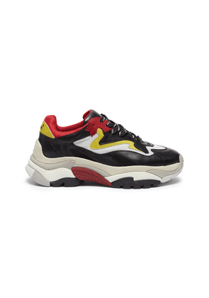 'Atomic' chunky outsole colourblock sneakers
