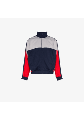 025b4854 Nike Track Jacket With Taped Side Stripes In Red AJ2681-657 ...