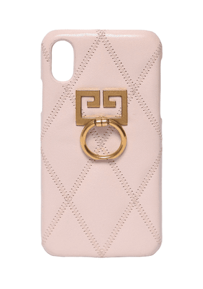 Quilted Leather Iphone X/xs Case