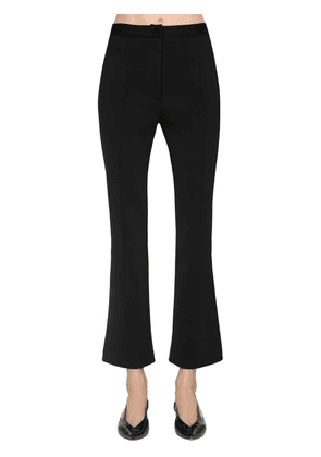Cropped Punto Milano Pants