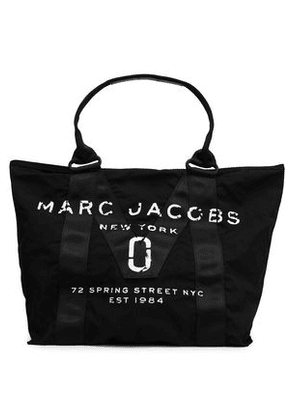 Marc Jacobs Woman Printed Canvas Tote Black Size -