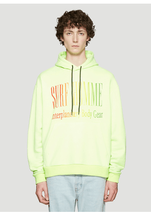 Ex Infinitas Hooded Surf Homme Sweater in Yellow size S