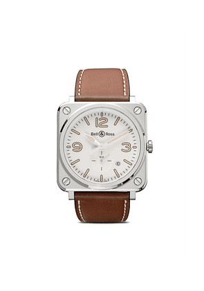 Bell & Ross BR S Steel Heritage W 39mm - White And Camo