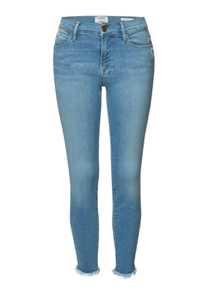 Frame Denim Le High Skinny Cropped Jeans