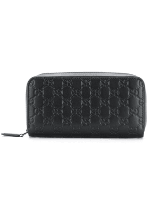 Gucci Gucci Signature continental wallet - Black