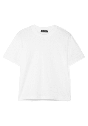 ATM Anthony Thomas Melillo - Boy Cotton-jersey T-shirt - White