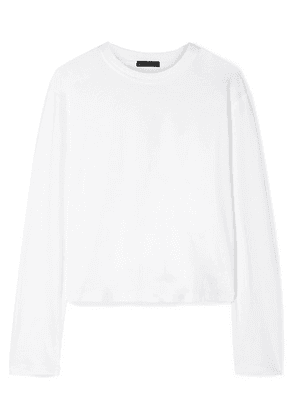 ATM Anthony Thomas Melillo - Boy Cotton-jersey Top - White