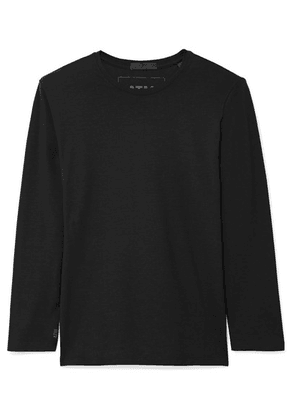 ATM Anthony Thomas Melillo - Stretch-pima Cotton Jersey Top - Black