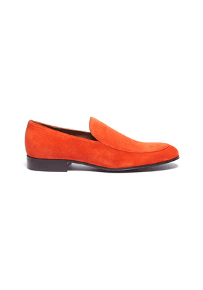 'Marcello' suede loafers